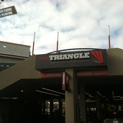 Photo taken at Triangle Square / The Triangle by Dean G. on 12/29/2012