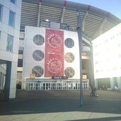 Photo taken at Amsterdam ArenA by Atinc O. on 9/11/2014