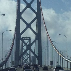 Photo taken at San Francisco-Oakland Bay Bridge by Poria A. on 12/22/2012