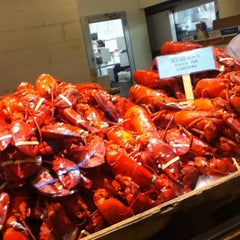 Photo taken at Lobster Place by Yenny G. on 12/22/2012