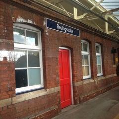 Photo taken at Basingstoke Railway Station (BSK) by MoogleyB on 3/30/2013