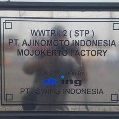 Photo taken at Ajinomoto - Mojokerto Factory by andsisko on 11/11/2014
