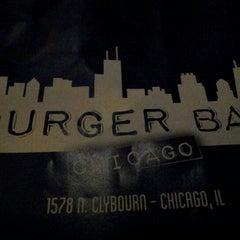 Photo taken at Burger Bar by Rosa M. on 12/31/2012