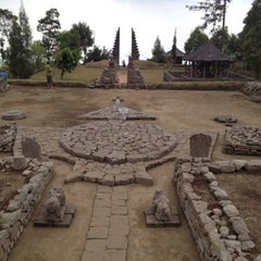 Photo taken at Candi Cetho by reni a. on 9/30/2012