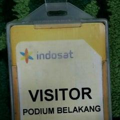 Photo taken at Kantor Pusat PT. Indosat Tbk. by azil p. on 8/26/2015