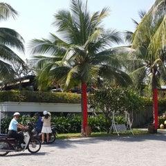 Photo taken at Champa Island by Chuyen T. on 2/3/2014