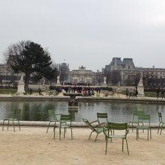 Photo taken at Jardin des Tuileries by Stas P. on 3/2/2013