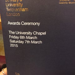 Photo taken at St Mary's University by Chelsea R. on 3/6/2015