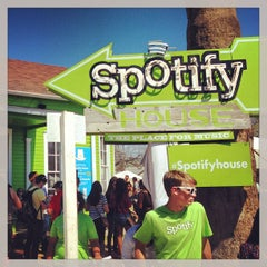 Photo taken at Spotify House by James G. on 3/15/2013
