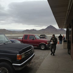 Photo taken at Salt Flats Cafe by Barb S. on 4/8/2013