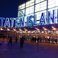 Photo taken at Staten Island Ferry - Whitehall Terminal by Brett T. on 12/19/2012