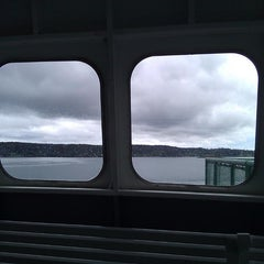 Photo taken at M/V Hyak (Washington State Ferry) by Daniel M. on 5/4/2014
