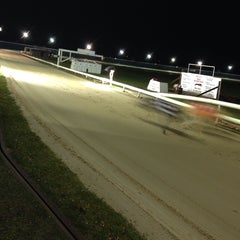 Photo taken at Henlow Dog Stadium by Sarah W. on 2/15/2014
