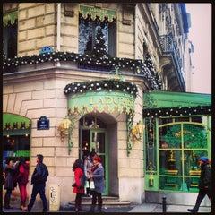 Photo taken at Ladurée by Yana V. on 1/2/2013