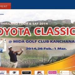 Photo taken at Mida Golf Club by Achisuka J. on 2/26/2014