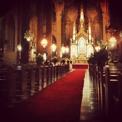Photo taken at Minor Basilica of San Sebastian (Shrine of Our Lady Of Mount Carmel) by Mon A. on 11/4/2012