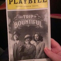 Photo taken at Stephen Sondheim Theatre by Jenn P. on 4/30/2013