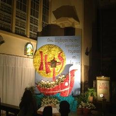 Photo taken at San Matias Parish Church by Erin C. on 3/28/2013