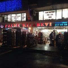 Photo taken at Palme Kitabevi by Baran E. on 10/9/2013