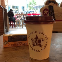 Photo taken at Pret A Manger by Fahad ع. on 10/17/2015