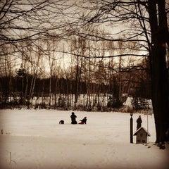 Photo taken at Lake James by Rob W. on 11/23/2013