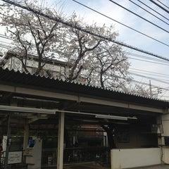 Photo taken at 柴崎駅 (Shibasaki Sta.) (KO15) by ohana c. on 3/23/2013