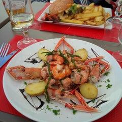 Photo taken at Le Café De La Plage by Marie-Odile R. on 8/28/2014