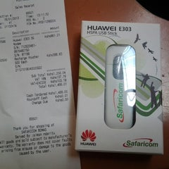 Photo taken at Safaricom, Galleria Shopping Mall by Pitter N. on 1/16/2013