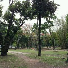 Photo taken at Parque Recanto do Trovador by Renata J. on 10/22/2012