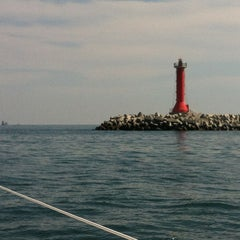 Photo taken at Spiaggia Degli Alberoni by Doni T. on 8/31/2013