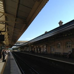 Photo taken at Exeter St Davids Railway Station (EXD) by Alan P. on 7/5/2013