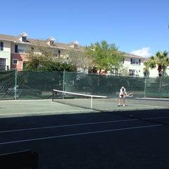 Photo taken at Delray Beach International Tennis Championships (ITC) by Karina L. on 3/7/2014