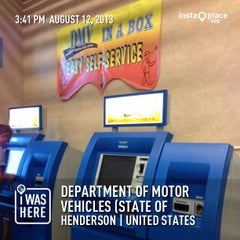 Photo taken at Department of Motor Vehicles by Liberty A. on 8/12/2013