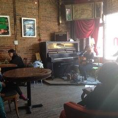 Photo taken at Le Dépanneur Café by Guillaume M. on 4/27/2013