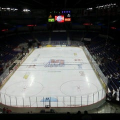 Photo taken at Spokane Veterans Memorial Arena by Dan R. on 10/7/2012