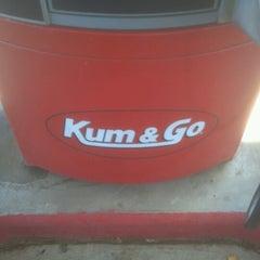 Photo taken at Kum & Go by Paul K. on 10/21/2012