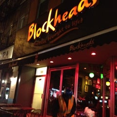 Photo taken at Blockheads Burritos by Mariana H. on 11/14/2012