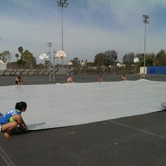 Photo taken at La Habra High School by Alfred F. on 2/15/2014