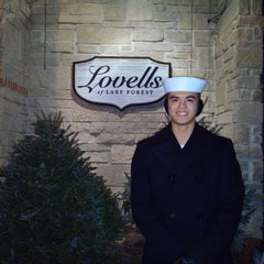 Photo taken at Lovells of Lake Forest by Alfred F. on 1/24/2015