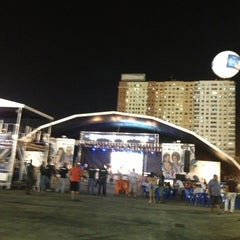 Photo taken at Terreirão do Samba by Jane F. on 2/12/2013