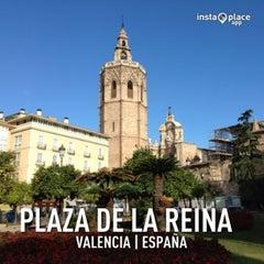 Photo taken at Plaça de la Reina by Pau A. on 1/30/2013