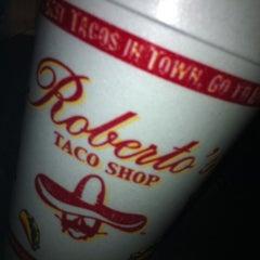 Photo taken at Robertos Taco Shop by Cash C. on 3/2/2013