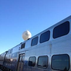 Photo taken at Metra - Roselle by Mabeth on 12/28/2013