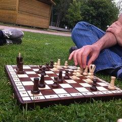 Photo taken at Zuidpark | Koning Albertpark by Morad 🚂 on 7/17/2013