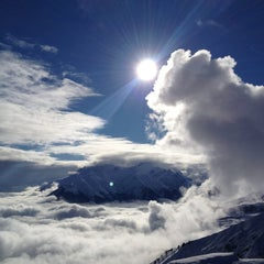 Photo taken at Piz Mundaun by Matthias M. on 1/2/2013