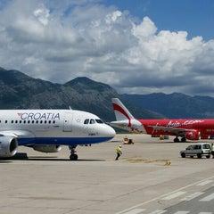 Photo taken at Dubrovnik Airport (DBV) by Petar V. on 7/1/2014