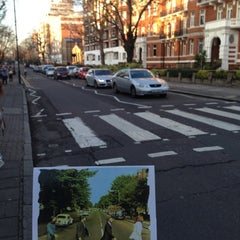 Photo taken at Abbey Road Crossing by Juan C. on 12/8/2012