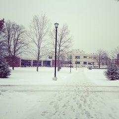 Photo taken at SUNY New Paltz by Mariuxi I. on 1/28/2013