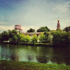 Photo taken at Новодевичий монастырь by Natali O. on 6/8/2013