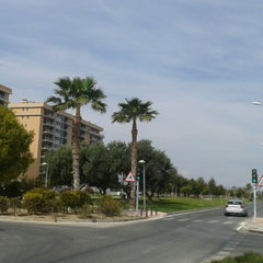 Photo taken at Avinguda Mestre Jose Garberí by Veronica C. on 3/19/2014